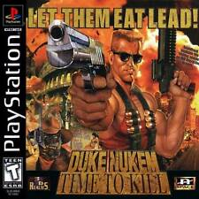 Duke Nukem Time To Kill - PS1 PS2 Playstation Game