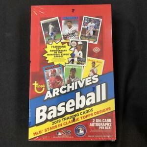 2019-Topps-Archives-Baseball-Hobby-Box-24-Packs-8-Cards-per-Pack-FACTORY-SEALED