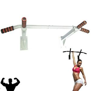 Pull-Up-Chin-Lip-Bar-Wall-Mounted-Chinning-Station-GYM-Fitness-Exercise-Bracket