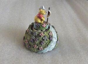 Lenox-Disney-Winnie-The-Pooh-SMOOTH-SAILING-Mini-Figurine-2004-Collectible-RARE