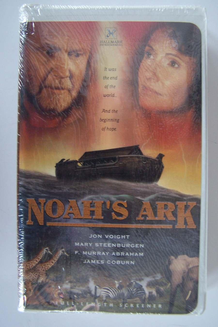 Noah's Ark VHS Video Tape PROMO Full Length Screener Ne