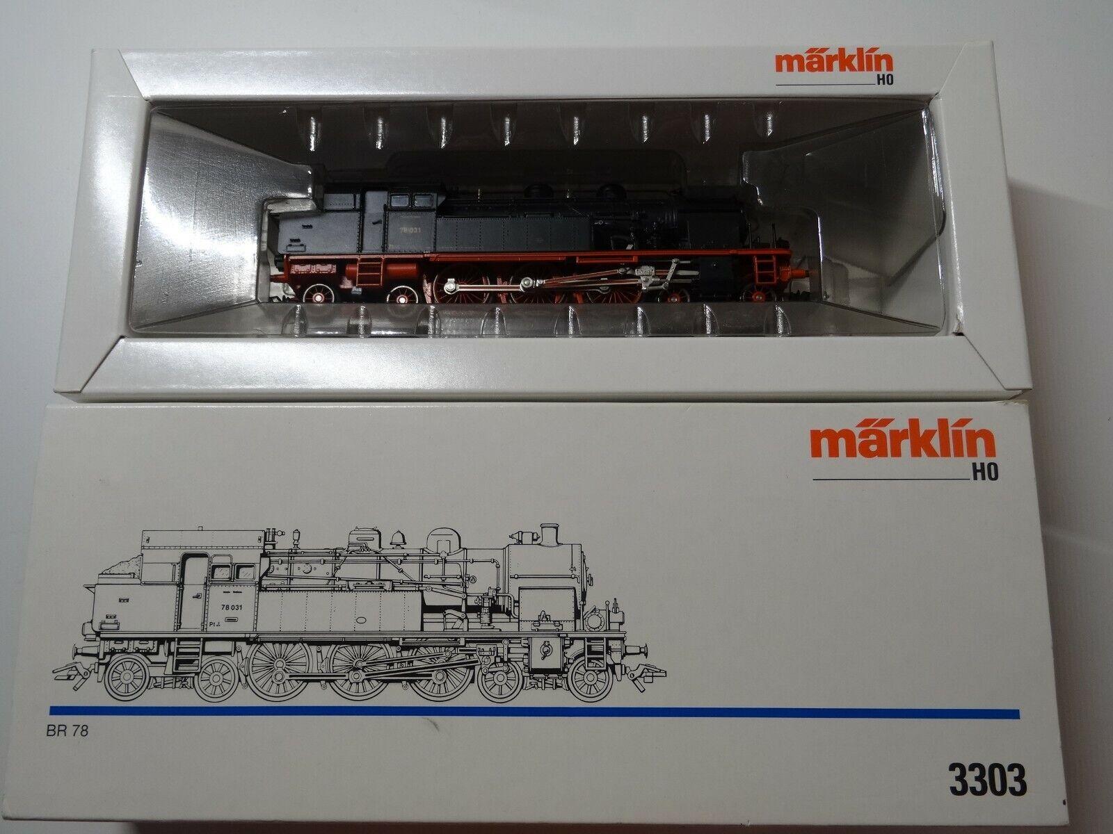 Märklin  HO Art 3310  Dampflok BR 78 031 der DR        neuw Org-Kt