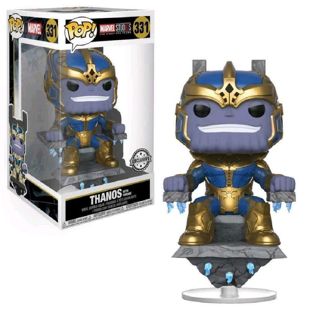 Marvel Studios First 10 Years Pop  Funko  Thanos w Throne Vinyl Figure Marvel 331  magasin fait l'achat et la vente