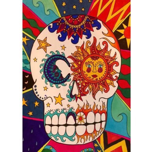 Halloween Skull Full Drill 5D Diamond Painting DIY Cross Stitch Home Decor Art