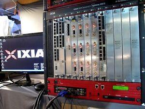 Details about Ixia Optixia XM-12 with IxOS 6 20 + IxAutomate + IxNetwork  +XOTN Chassis Server