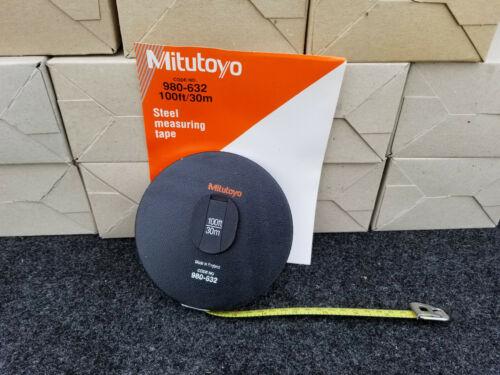 30m Pull Tape Measure 20 pc Bulk Mitutoyo 980-632 100 ft foot