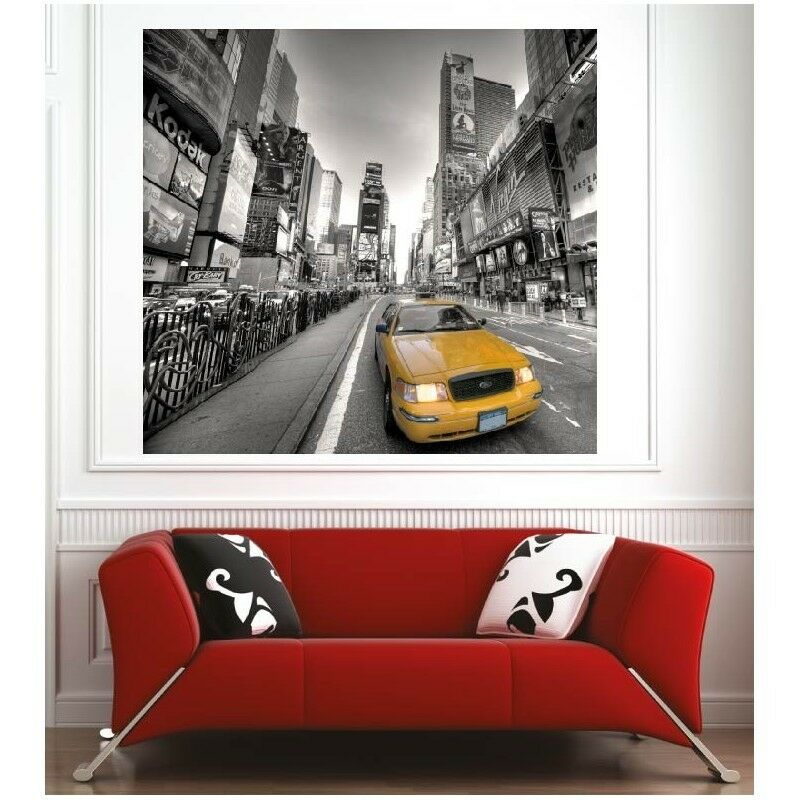 Plakat Plakat Stadt New York Taxi 10280134