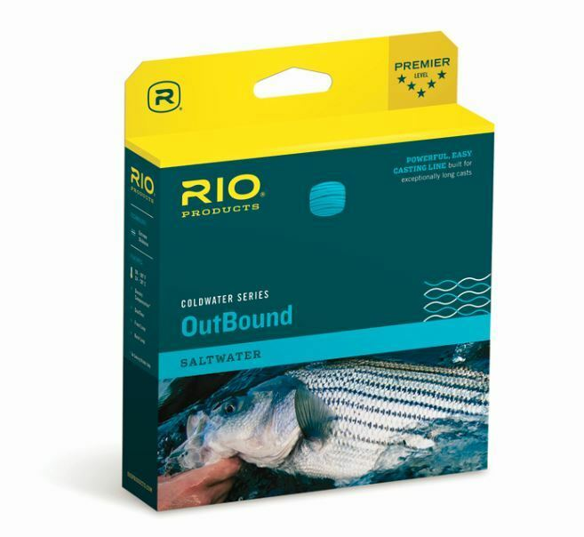 Rio SW OUTBOUND Fly Line WF5F I  NEW in Box Clear   Yellow  CLOSEOUT