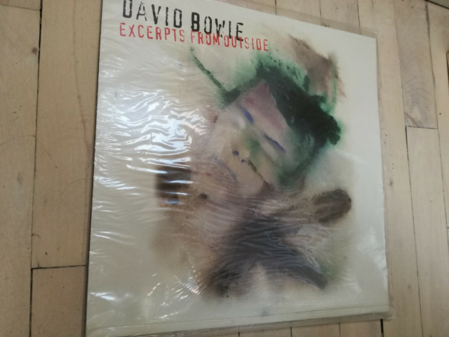 LP, David Bowie, Excerpts from outside, Perfekt stand.…