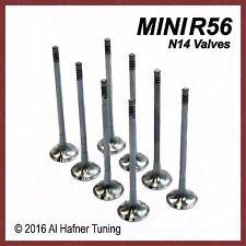 Mini Cooper R56 N14 Exhaust Valves (x8) 11347547187