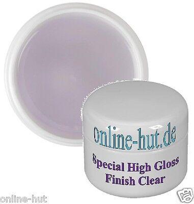 5ml  Special High Gloss Finish Gel Klar, Glanzgel, mittelviskos, transparent