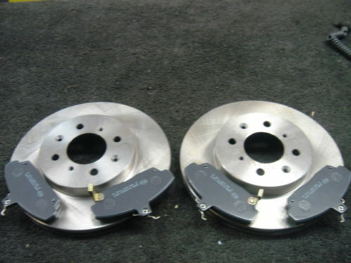 ROVER MG ZR ZS  BRAKE DISCS /& PADS FRONT NEW SOLID