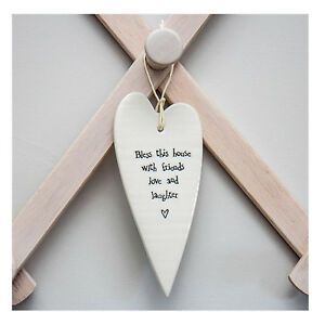 East-of-India-Large-Porcelain-Heart-Message-034-BlessThis-House-with-friends-034