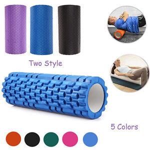 Gym-Exercise-Fitness-Floating-Point-EVA-Yoga-Foam-Roller-Physio-Trigger-Massage