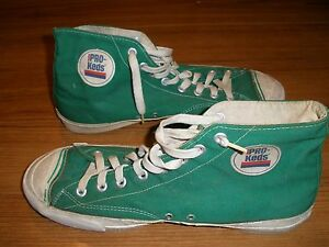 Pro Keds Green High Tops Size