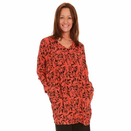Masai Orange and Black Tunic Ianti 1000439