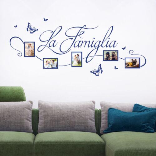 Mural cadre photo la famigliacadre photo la familleklebeheld ®