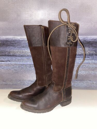 Lucchese Emma Womens Equestrian Boots 8
