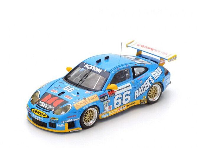 Spark Model 1 43 43DA03 Porsche 911 GT3 RS  66 Winner 24H Daytona 2003 NEW