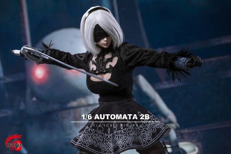 NEW TF TOYS 1/6 Cosplay 2b sister NieR:Automata Sexy robot HOT FIGURE TOYS