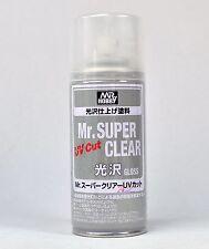 MR HOBBY SPRAY 170ml UV CUT MR SUPER CLEAR GLOSS B522