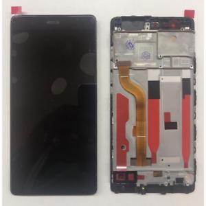 VETRO-DISPLAY-LCD-TOUCH-SCREEN-SCHERMO-FRAME-PER-HUAWEI-P9-NERO-EVA-L09