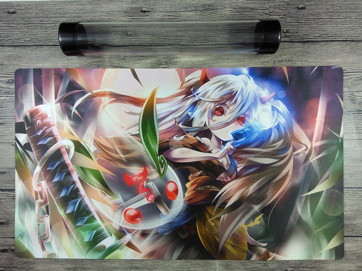 YuGiOh Akiza Izinsk /& Black Rose Dragon Custom Playmat TCG Mat Free Best Tube