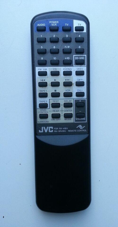 Receiver, JVC