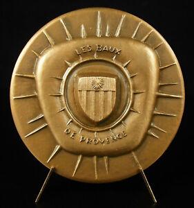 Medal-le-Chateau-of-Leases-De-Provence-Sc-Bizette-Lopez-the-Alpilles-Medal