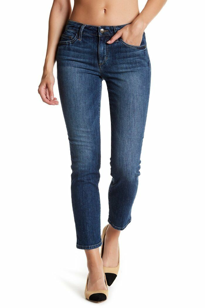 Joe's Jeans Straight Ankle in Abby Skinny Pencil Med Wash 26 x 29 NWT J410