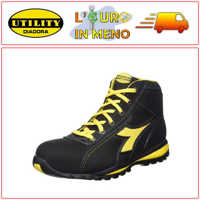 Scarpa da Lavoro Alta Glove II High S3 HRO Sra per Uomo e Donna IT 42 Utility Diadora