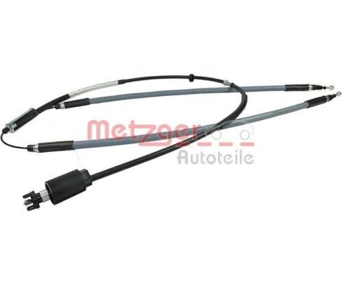 METZGER 11.5844 Seilzug Feststellbremse COFLE  hinten links für Opel