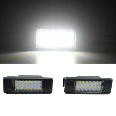 License Plate Light For CITROEN C2 3D//C3 5D//C4 3D//C4 5D//C5 4D//C5 5D//C6 4D//C8 4D