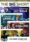 The Big Short: Christian Bale Steve Carell Brad Pitt 1hr 39m DVD