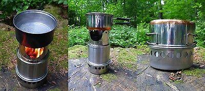 """Freundlich Outdoor-ofen Aus Edelstahl """"firepot Typ 140"""" Neu Ein Bereicherung Und Ein NäHrstoff FüR Die Leber Und Die Niere Camping & Outdoor"""