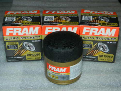BRAND NEW 6 OPEN BOX FRAM XG10060 ULTRA SYNTHETIC ENGINE OIL FILTERS