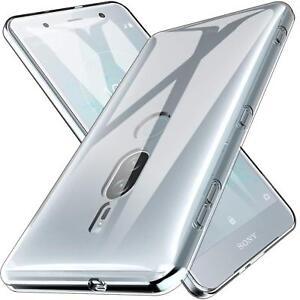 Sony-Xperia-xz2-Premium-Thin-Silikon-Klar-Case-Cover-Ultra-Slim-Stossfeste-Gel