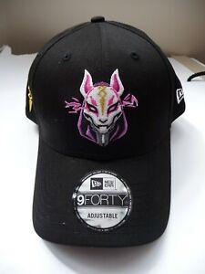 Hats In Fortnite New Era Hats 9forty Drift Fortnite Baseball Cap League Essential Black Adult Ebay