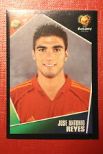 Panini EURO 2004 N. 86 ESPANA REYES  NEW With BLACK BACK TOPMINT!!