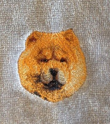 Chow Chow Hand Towel Embroidered Custom Personalized Dog Ebay