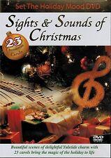 Set the Holiday Mood: Sights & Sounds of Christmas - 23 Carols (DVD, 2007)