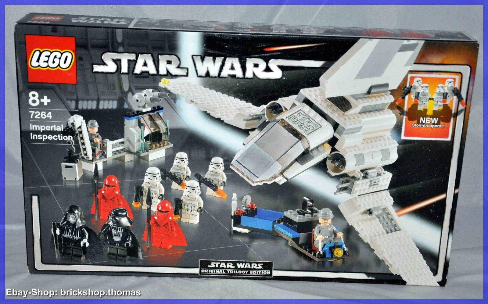 Noël fou saisir saisir saisir grand concours LEGO star wars 7264-Imperial Inspection-article neuf non ouvert 23814e
