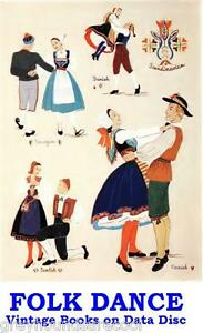 Folk-Dancing-Cecil-Sharpe-Country-Dance-Folk-Dances-Vintage-Books-on-Data-Disc
