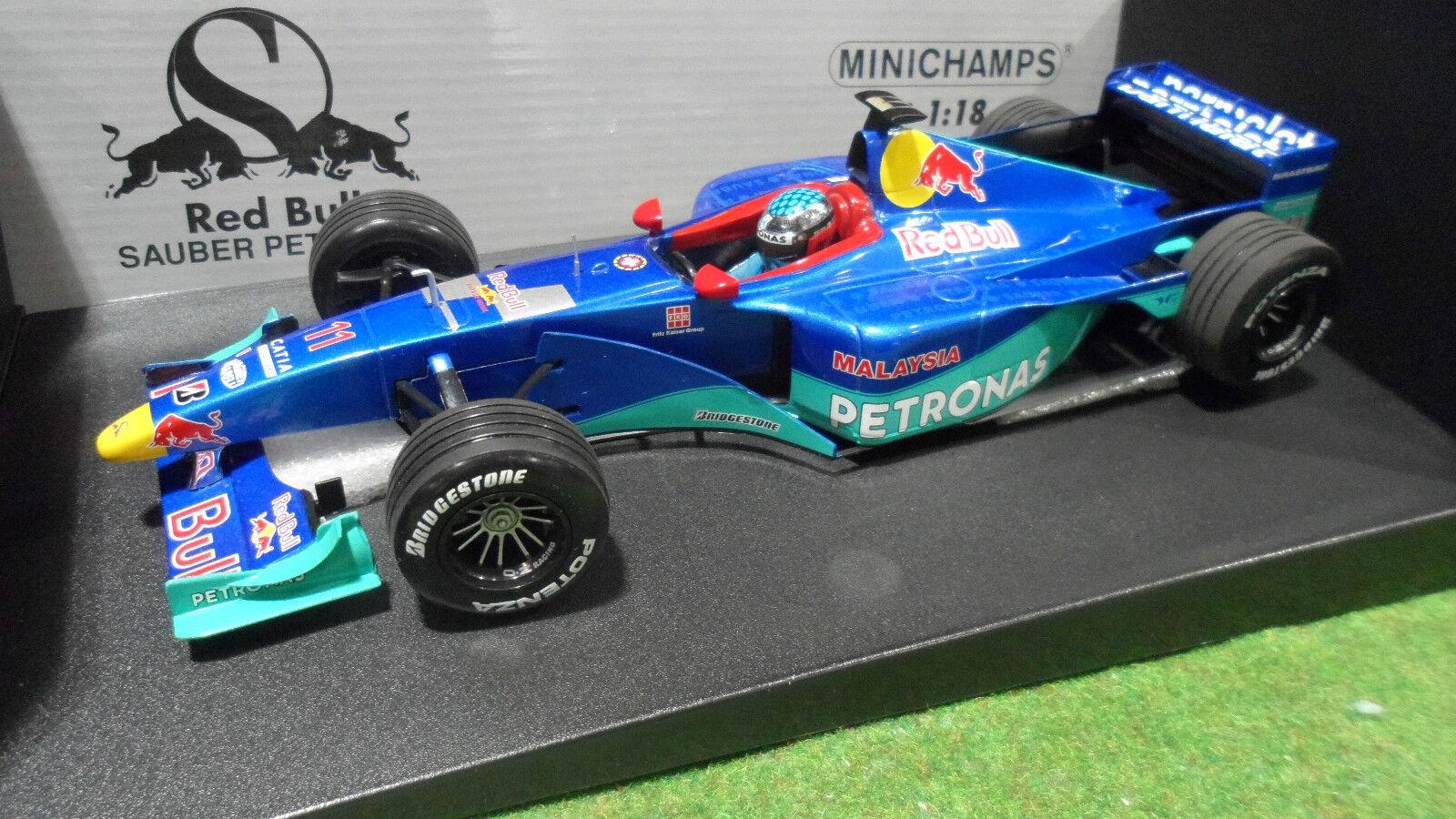 più economico F1 F1 F1 SAUBER PETRONAS 1999 C18 ALESI  11 rosso BULL 1 18 MINICHAMPS 180990011 voiture  promozioni di squadra