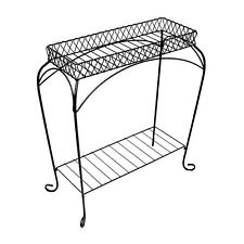 Metal Plant Stand Flower Tier Indoor Outdoor Decor Garden Holder Patio Display