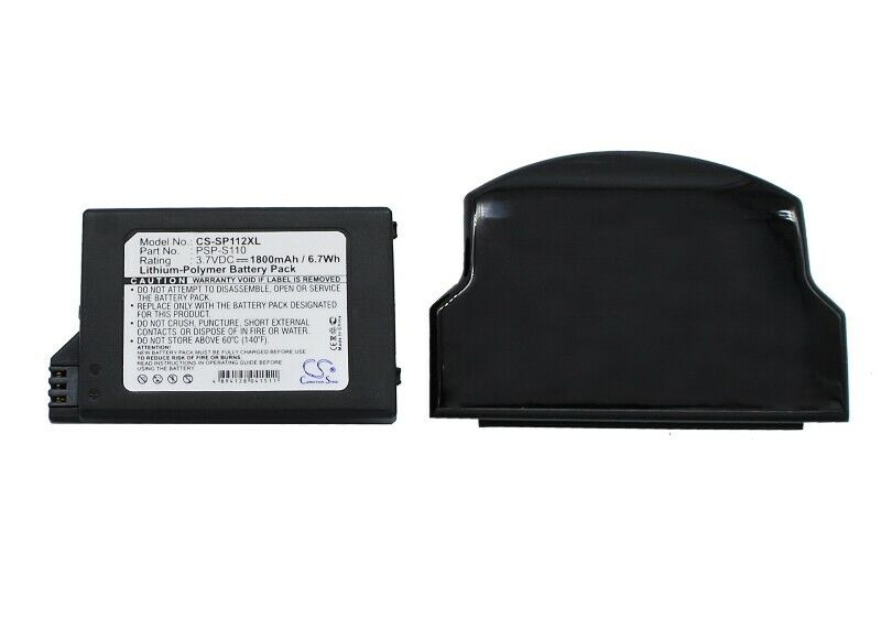 Cameron Sino	Game, PSP, NDS Battery	CS-SP112XL for SONY PSP 2th etc.