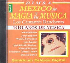 Pedro Infante Jorge Negrete Mexico Y Su Magia Y Su Musica Cantantes Rancheras CD