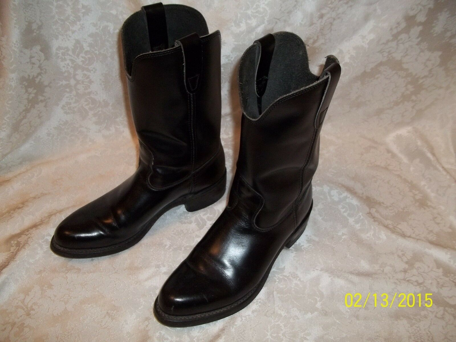 Vintage biltrite botas Para Hombre d trabajo montar motocicleta Usa bonito MUST SEE