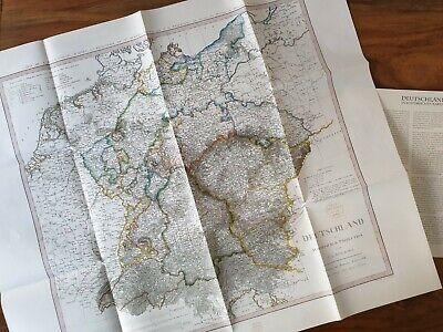 Intelligent Deutschland In Historischen Karten Mappe 00604 Deutschland 1811 Mangelware
