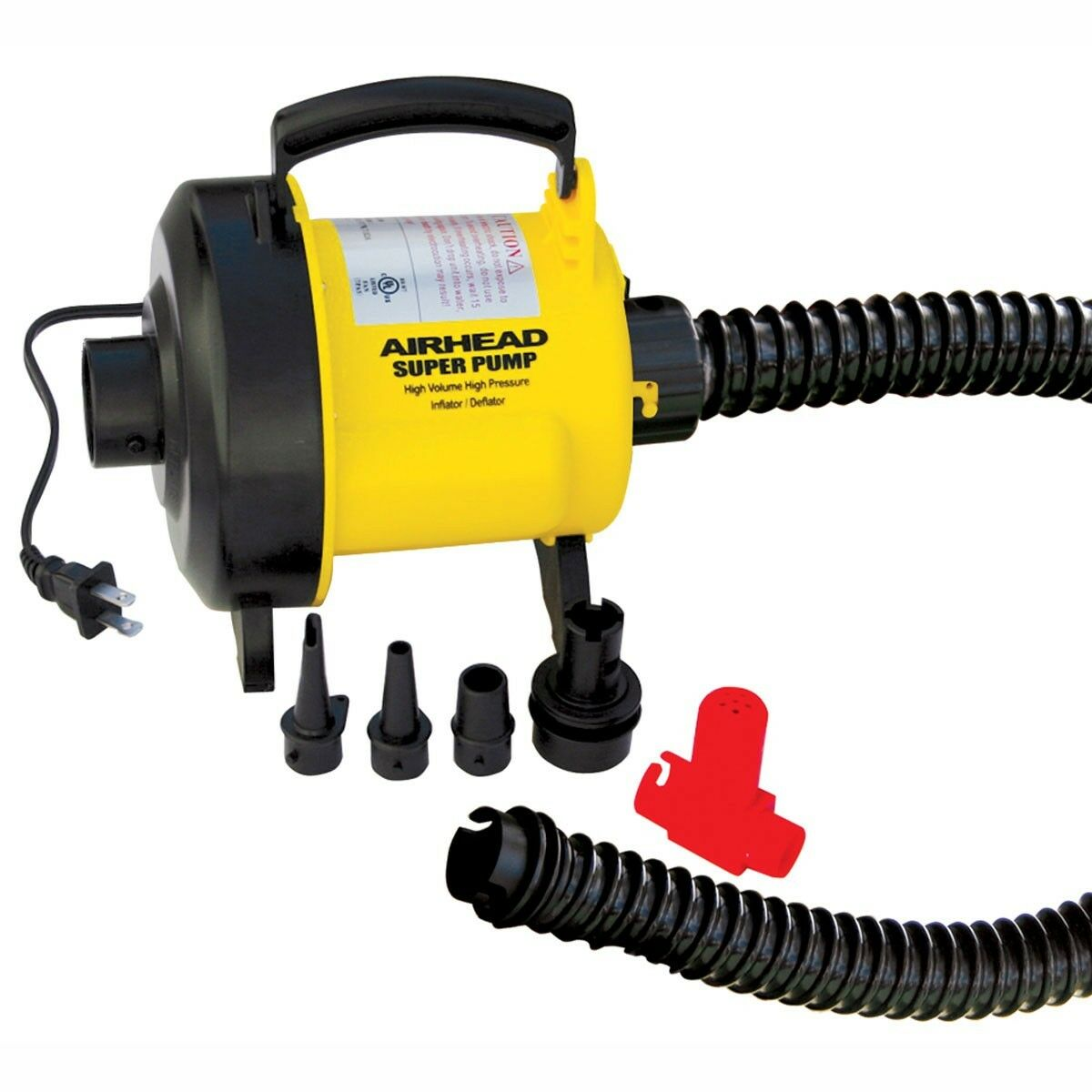 Airhead Air Super Pump 120V, High Volume  High Pressure  ahp-120s